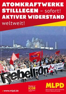 Atomkraftwerke stilllegen.Aktiver Widerstand