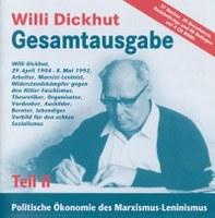 Willi Dickhut Gesamtausgabe - Teil II: Politische Ökonomie des Marxismus-Leninismus - CD