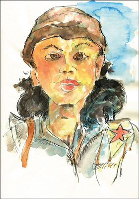 Kobane_Frau