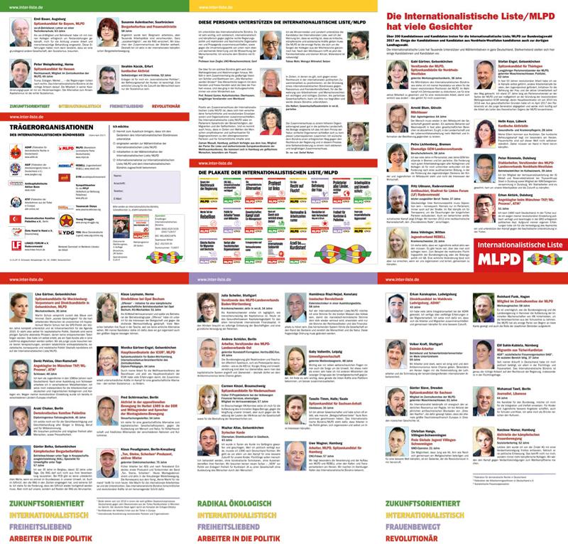 Kandidatenflyer 6-seitig