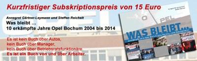Opel Buch 15Euro