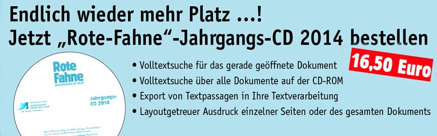 Rote Fahne CD 2014