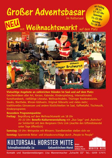 Adventsbasar 2014 Gelsenkrichen