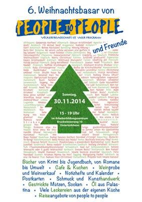 Adventsbasar 2014 Stuttgart
