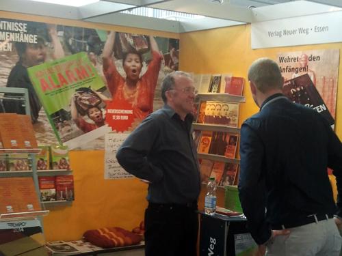 Frankfurter Buchmesse 2014, Stand 2