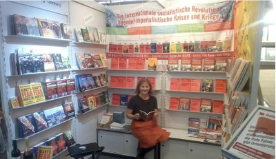 Frankfurter Buchmesse 2018 Messestand