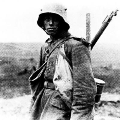 I.Weltkrieg, junger Soldat, Quelle: Bundesarchiv