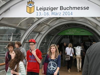 Leipziger Buchmesse 2014 junge Leute