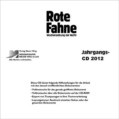 RF 2012 CD-Rom