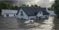Überschwemmung klein